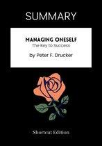 Boek cover SUMMARY - Managing Oneself: van Shortcut Edition