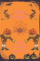 Happy halloween activity and coloring book for kids