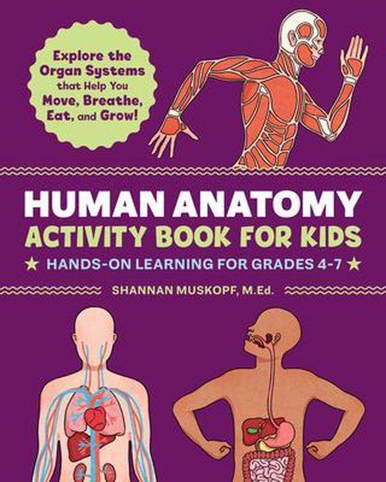 Human Anatomy Activity Book for Kids
