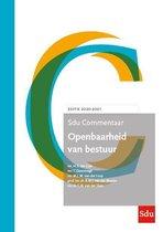 SDU Commentaar  -   Sdu Commentaar Openbaarheid van Bestuur. Editie 2020-2021