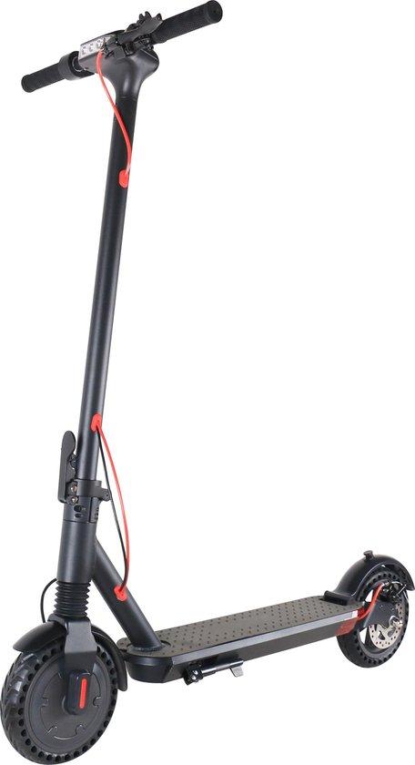 EasyGO B3 Elektrische fiets, Elektrische step met zadel voor volwassenen. Snel opvouwbaar, 350 watt motor, Max. Snelheid 25 km/u, Cruise control met 12'' Inch Luchtbanden