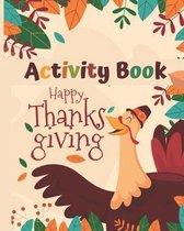 Activity Book Happy Thanksgiving