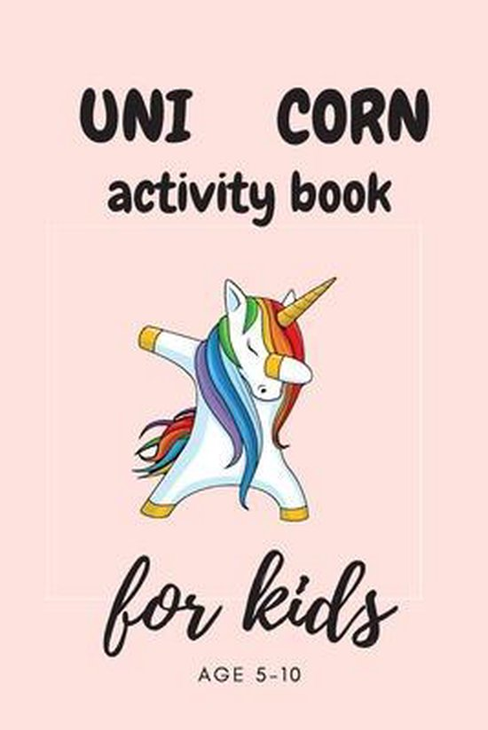 Unicorn Activity Book for Kids Ages 5-8