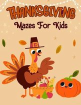 Thanksgiving Mazes For Kids