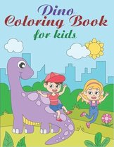 Dino Coloring Book For Kids