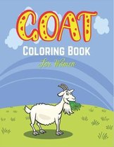 GOAT Coloring Book For Women