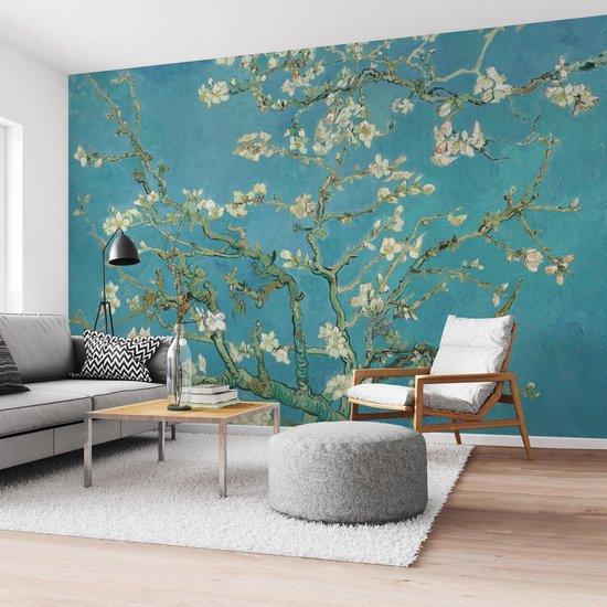 Amandelbloesem Vincent van Gogh - Bloemen - Fotobehang 384 x 260 cm Vlies