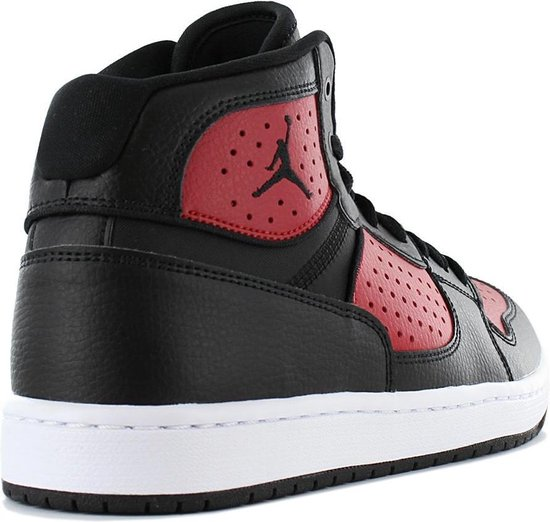 Nike JORDAN Access - Heren Sneakers Sport Casual schoenen Zwart-Rood AR3762-006 - Maat EU 43 US 9.5