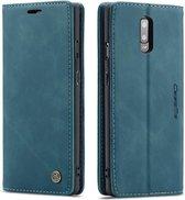 OnePlus 7 Hoesje - CaseMe Book Case - Blauw
