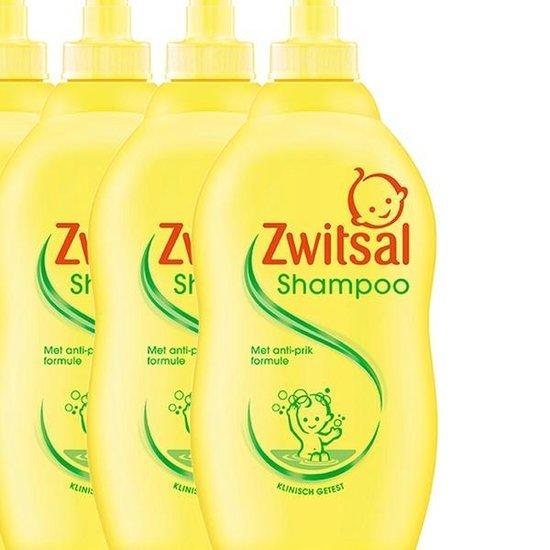 Zwitsal Anti Prik Shampoo - Voordeelverpakking 4 x 400 ml met pomp