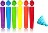 Kroon Commerce Siliconen Ijslolly vormen BPA vrij - Incl. Trechter