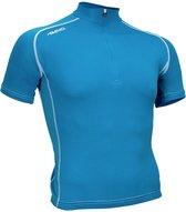 Avento Wielrenshirt - Azuurblauw/Wit - XL
