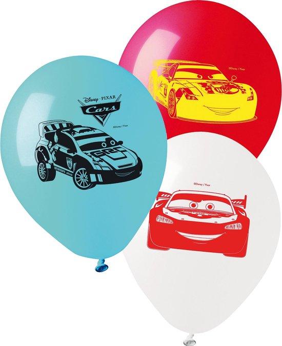 GIOCOPLAST NATALE S.P.A - 10 latex Cars ballonnen - Decoratie > Ballonnen