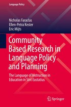 Community Based Research in Language Policy and Planning