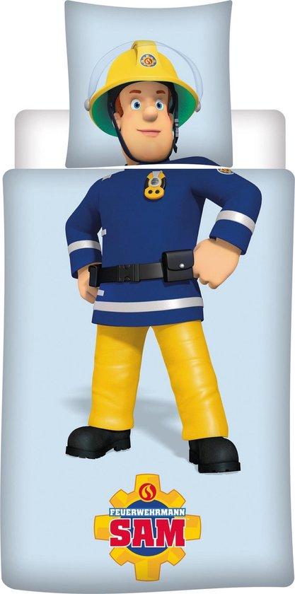 Brandweerman Sam - Dekbedovertrek - Eenpersoons - 140 x 200 cm - Polyester