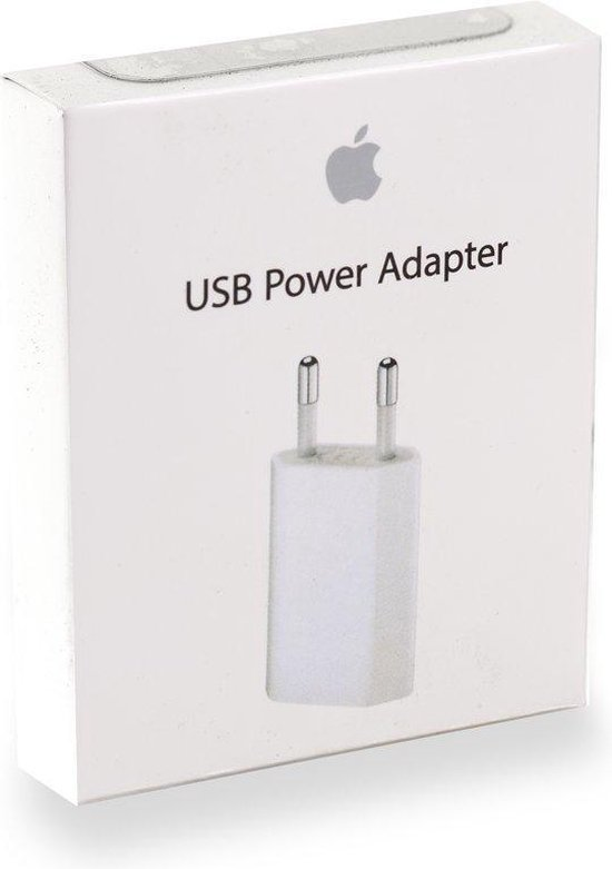 Apple 5W iPhone oplader - Wit