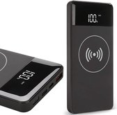 Powerbank Wireless Draadloos - 10000 mAh - voor iPhone / Samsung / Huawei - TechNow