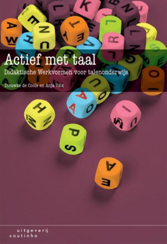 Boek cover Actief met taal van Dieuwke Coole (Paperback)