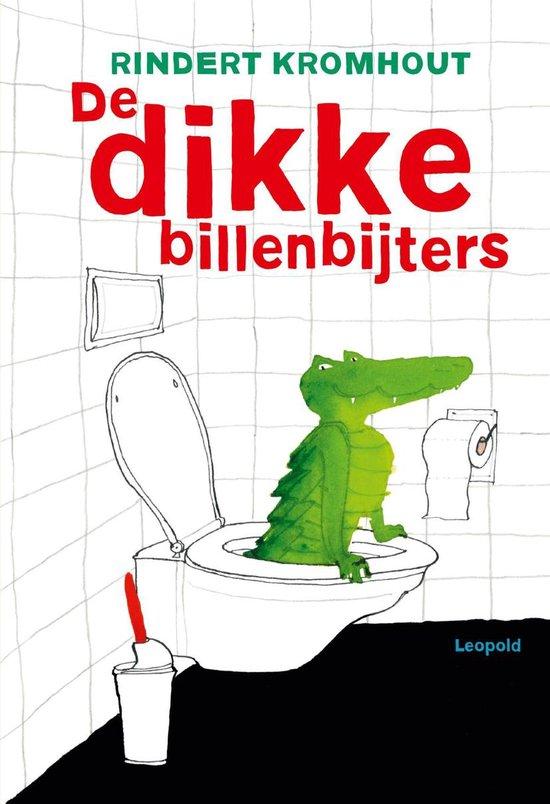 Boek cover De dikke billenbijters / AVI E4 van Rindert Kromhout (Onbekend)