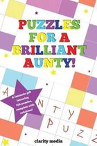 Puzzles for a Brilliant Aunty!