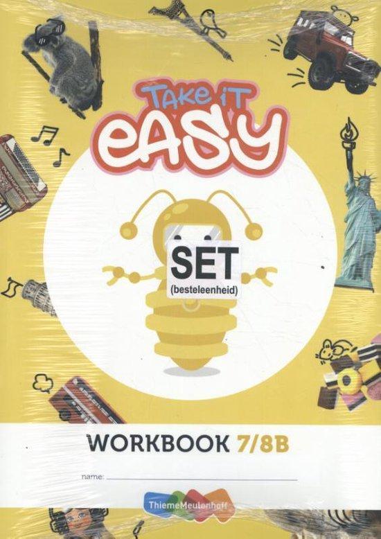 Take it easy Werkschrift groep 7/8B (set a 5 ex) 2e druk - none |