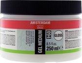 Amsterdam schildermedium flacon 250ml - gel - glanzend
