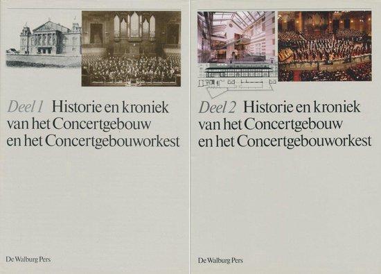 Historie & kroniek concertgebouw enz compleet - none |
