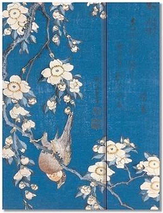Peter Pauper Notitieboek - Bullfinch and Cherry Tree - met magneetsluiting