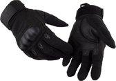 Motorhandschoenen -  Volledige bescherming - Racing Motorbike Motocross -Ademende Handschoenen - Size L - Zwart