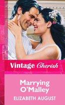 Omslag Marrying O'malley (Mills & Boon Vintage Cherish)