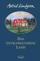 Boek cover Das entschwundene Land van Astrid Lindgren