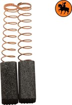 Koolborstelset voor Casals frees/zaag VLR180A - 6,4x6,4x15mm