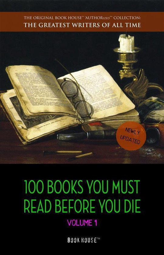 Boek cover 100 Books You Must Read Before You Die - volume 1 [newly updated] [The Great Gatsby, Jane Eyre, Wuthering Heights, The Count of Monte Cristo, Les Misérables, etc] (Book House Publishing) van Lewis Carroll (Onbekend)