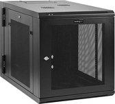 StarTech.com 12U Serverkast rack wand monteerbaar diepte tot 32'' / 80 cm scharnierende behuizing