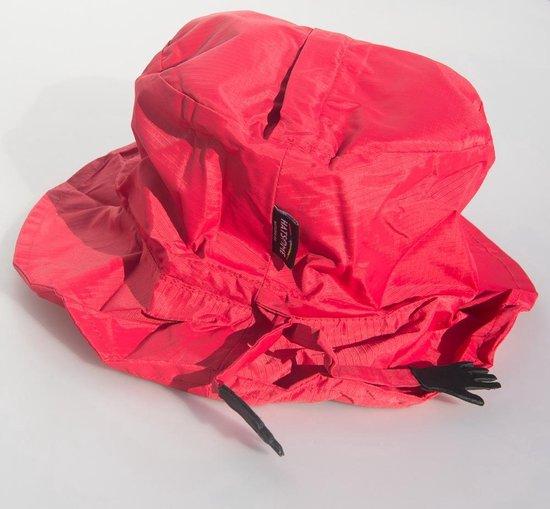 HATSOME regenhoedje rood