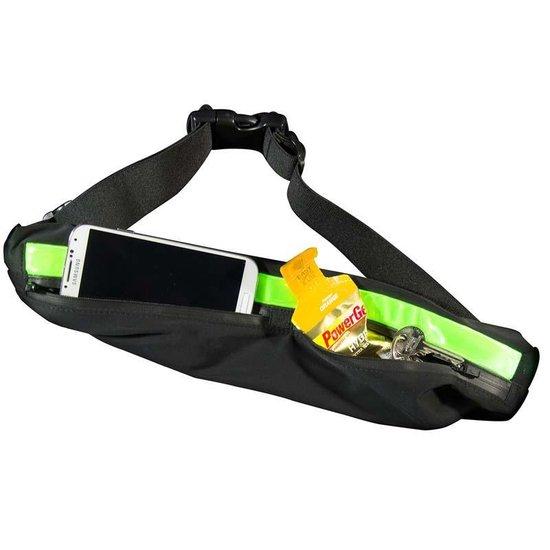 Bee Seen - Led  - Heuptas - waterproof - verstelbaar - 2 vakjes - usb - hardlopen - jogging - hiking - outdoor