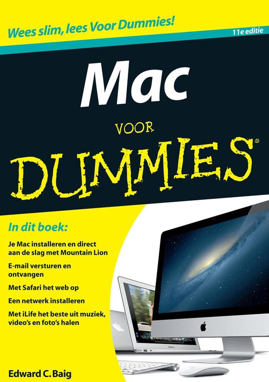 Mac voor dummies - Edward C. Baig |