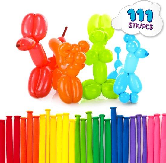 Lumaland - Modelleer ballonnen - Set van 111 ballonnen - In verschillende kleuren