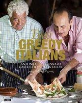 Boek cover Two Greedy Italians van Antonio Carluccio (Paperback)