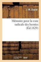 Memoire pour la cure radicale des hernies
