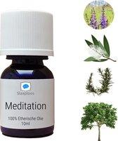 Slaaploos Meditatie Olie - 100% Etherische olie voor Diffuser of Massageolie
