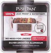 Wham PushPan Springvorm - Aluminium - Vierkant - Diep 20 cm