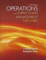Boek cover Operations and Supply Chain Management van F. Robert Jacobs