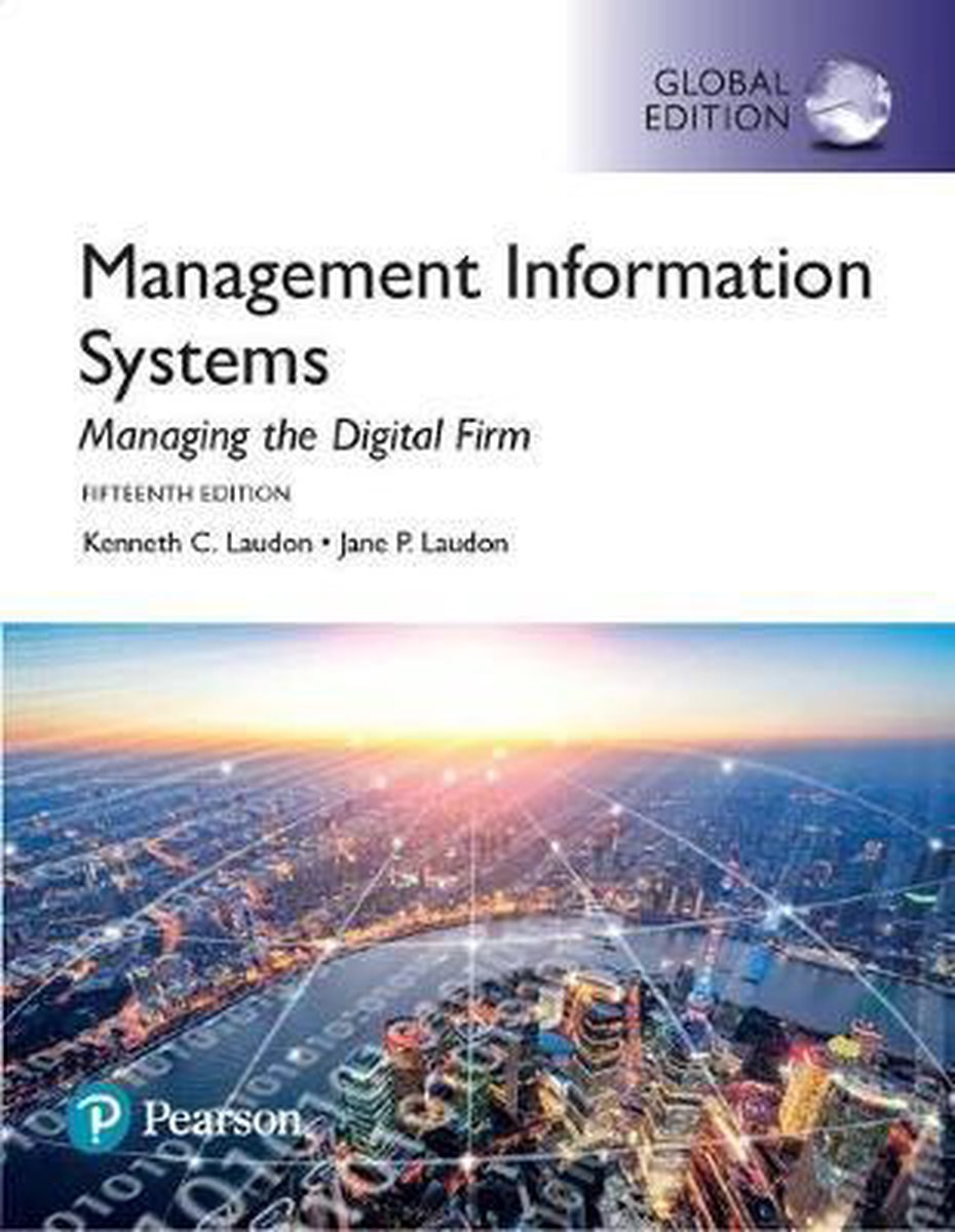 Management Information Systems - Jane Laudon