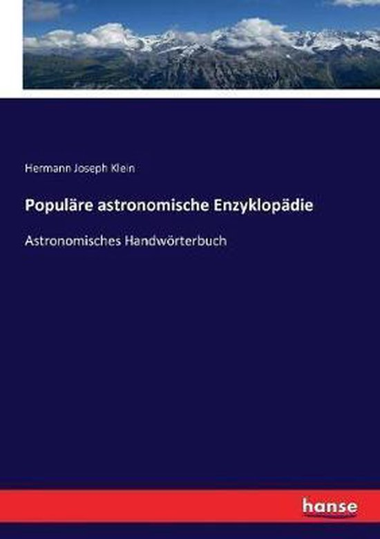 Popul re astronomische Enzyklop die