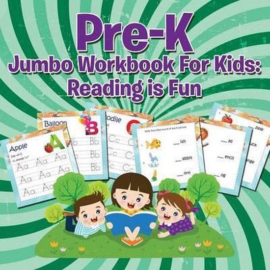 Boek cover Pre-K Jumbo Workbook For Kids van Speedy Publishing Llc (Paperback)