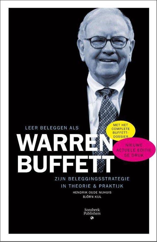 Boek cover Leer beleggen als Warren Buffet van Hendrik Oude Nijhuis (Paperback)