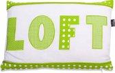 In The Mood Loft Mixed - Sierkussen - 30x45 cm - Lime