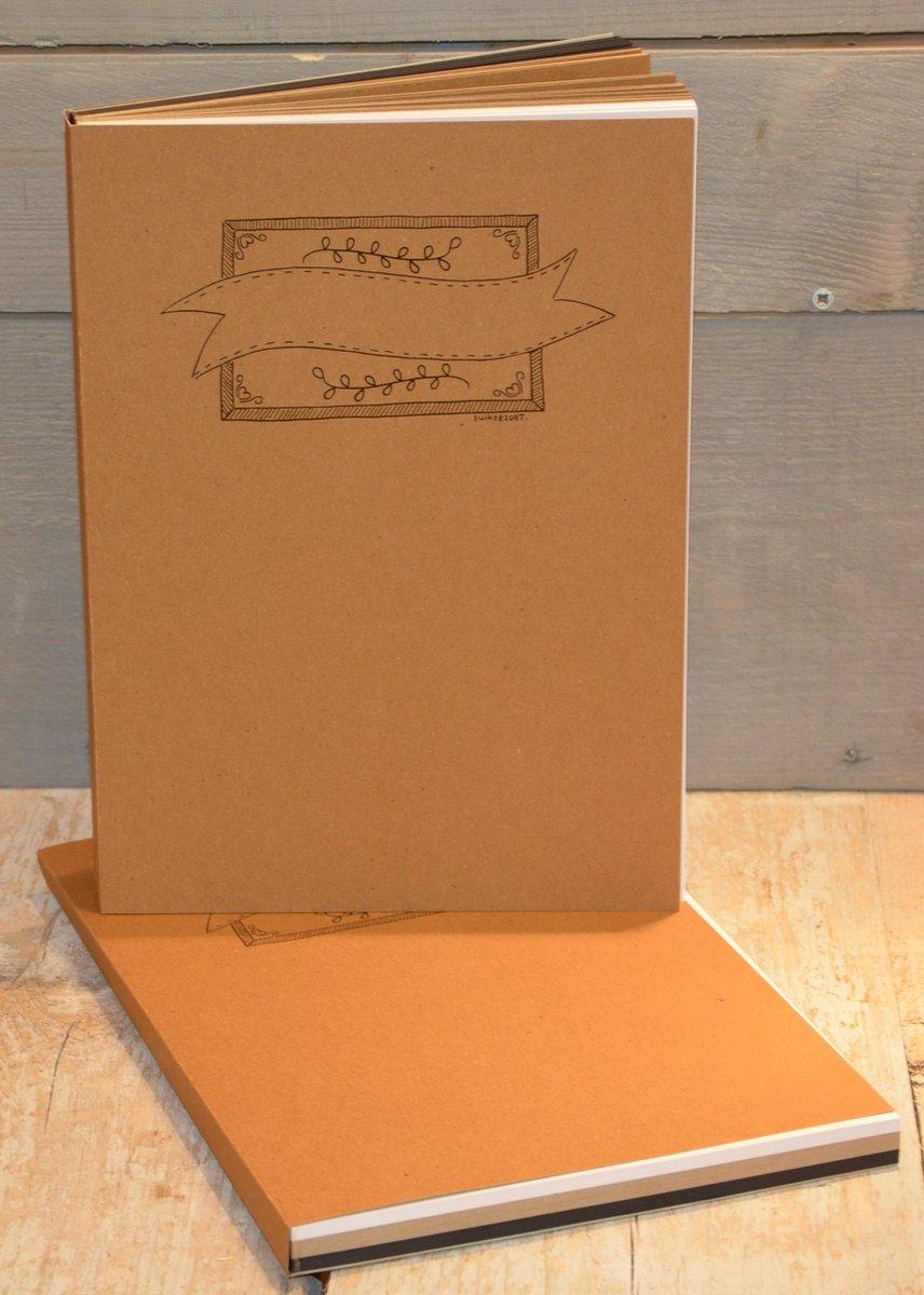Oefenblok A4 handlettering + 5 Oefensheets A4 Formaat
