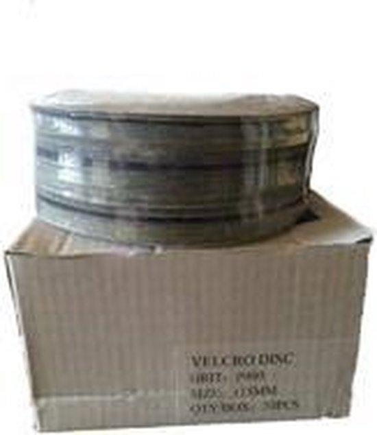 Klittenband schuurpapier 115 mm korrel 400 rond